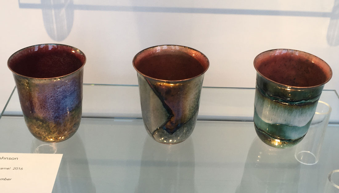 copper bowls with perfectly matched colours